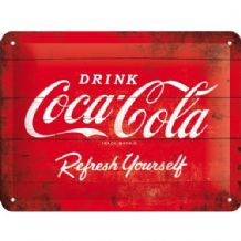 Coca Cola - 3D  Metal Wall Sign (Small)